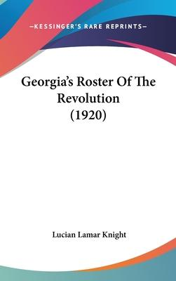 Georgia's Roster of the Revolution (1920)