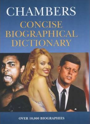Concise Biographical Dictionary