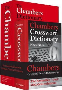 Chambers Word Lover's Crossword Dictionary Set