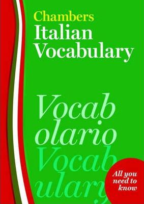 Chambers Italian Vocabulary