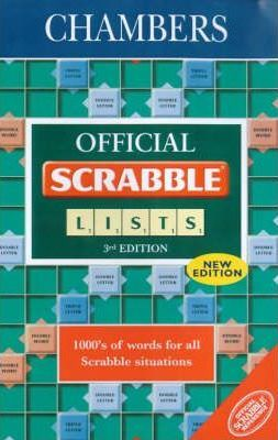 Chambers Official Scrabble Lists