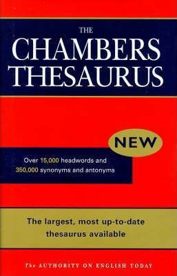 Chambers English Thesaurus