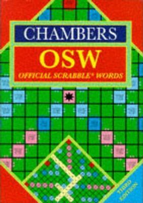Chambers Official Scrabble Words