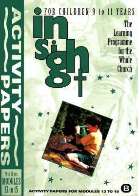Insight: Insight for Children Activity Papers for 9-11 Year Olds Bk. 2