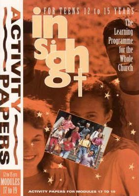 Insight: Insight for Teens Activity Papers