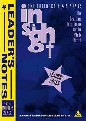 Insight: Insight for Children Year Two Leaders Book for 4-5 Year Olds Bk.3