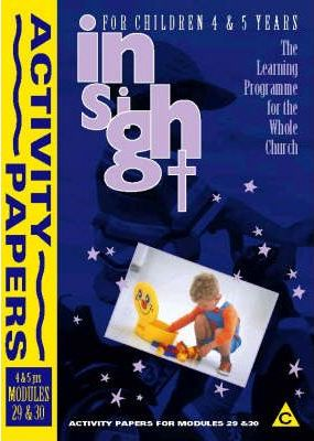 Insight: Insight for Children Year Two Activity Papers for 4-5 Year Olds Bk.3