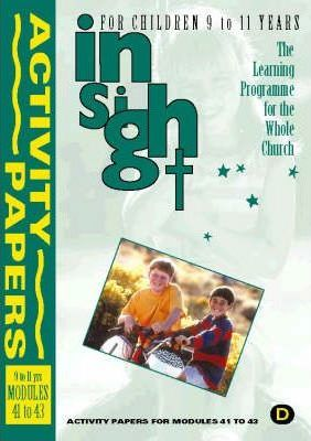 Insight: Insight for Children Year Two Activity Papers for 9-11 Year Olds Bk.3