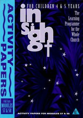 Insight: Insight for Children Year Three Activity Book for 4-5 Year Olds Bk. 5