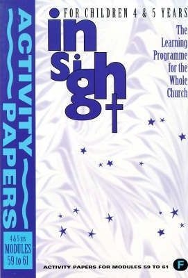 Insight: Insight for Children Year Three Activity Book for 4-5 Year Olds Bk. 6