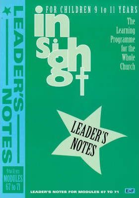 Insight: Insight for Children Year Three Leaders Book for 9-11 Year Olds Bk. 5