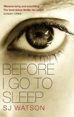 Before I Go To Sleep Cover Image