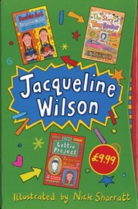 """Jacqueline Wilson Slipcase: """"The Story of Tracy Beaker"""", """"Double Act"""", """"The Lottie Project"""""""