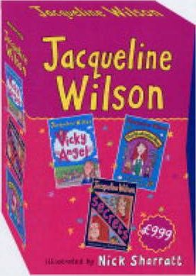 Vicky Angel: Jacqueline Wilson Slipcase WITH Illustrated Mum AND Secrets