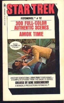 Star Trek Fotonovels: Amok Time No. 12