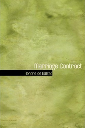 Marriage Contract Cover Image