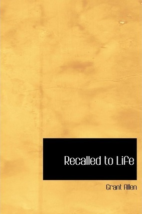 Recalled to Life Cover Image