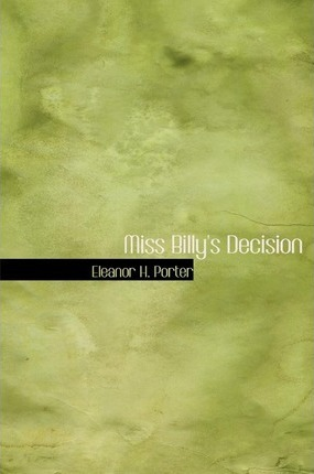 Miss Billy's Decision Cover Image