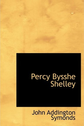Percy Bysshe Shelley Cover Image