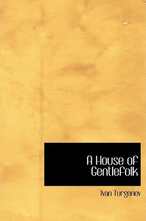 A House of Gentlefolk Cover Image