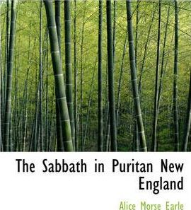 The Sabbath in Puritan New England Cover Image