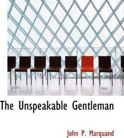 The Unspeakable Gentleman Cover Image