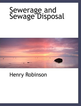 Sewerage and Sewage Disposal