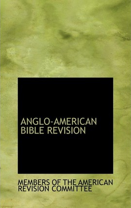 Anglo-American Bible Revision