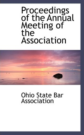 Proceedings of the Annual Meeting of the Association