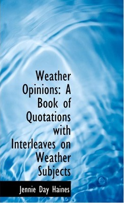 Weather Opinions