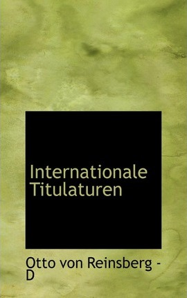 Internationale Titulaturen