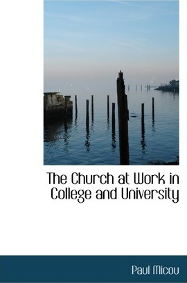 The Church at Work in College and University