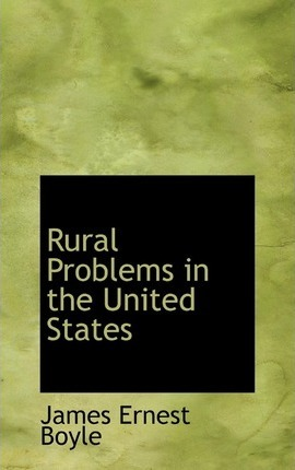 Rural Problems in the United States