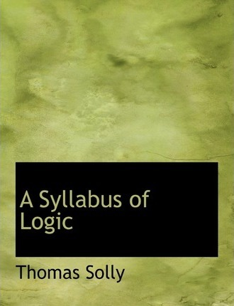A Syllabus of Logic