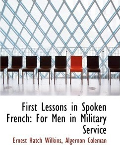 First Lessons in Spoken French