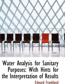 Water Analysis for Sanitary Purposes