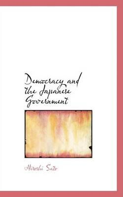 Democracy and the Japanese Government