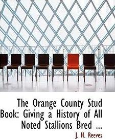 The Orange County Stud Book