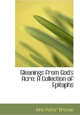 Gleanings from God's Acre