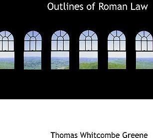 Outlines of Roman Law