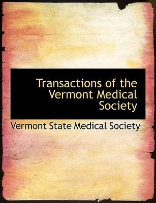 Transactions of the Vermont Medical Society