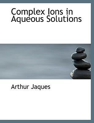 Complex Ions in Aqueous Solutions