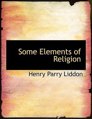 Some Elements of Religion