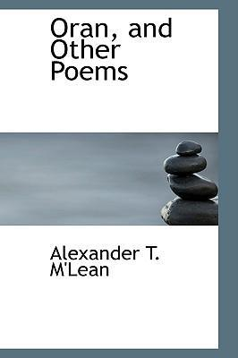 Oran, and Other Poems