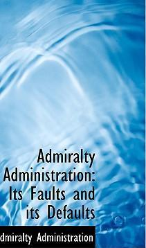 Admiralty Administration