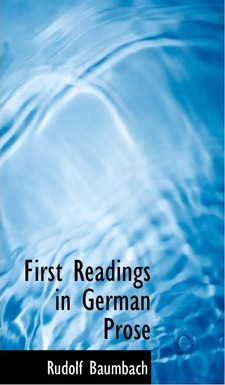 First Readings in German Prose