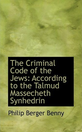 The Criminal Code of the Jews