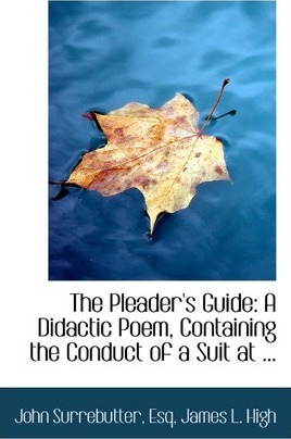The Pleader's Guide
