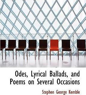 Odes, Lyrical Ballads, and Poems on Several Occasions
