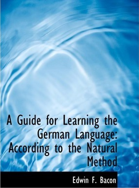A Guide for Learning the German Language